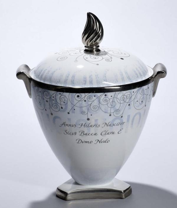 grey vase